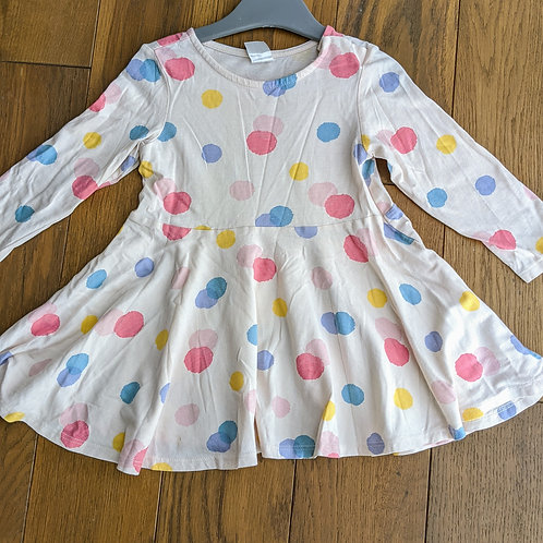 H&M Pastel Spots Dress