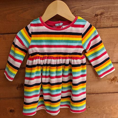 Next Winter Rainbow Stripe Dress