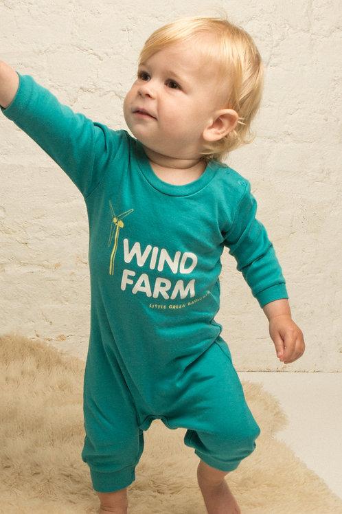 Little Green Radicals Wind Farm Playsuit