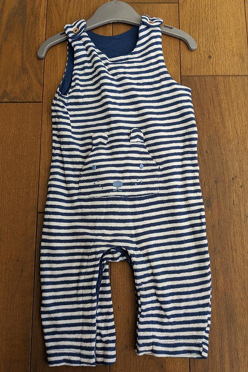 Marks and Spencers Striped Dungarees