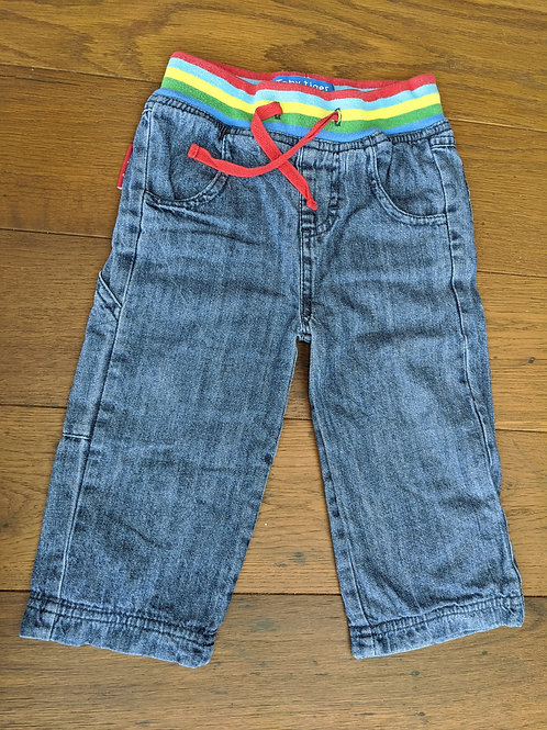 Toby Tiger Baby Rainbow Jeans