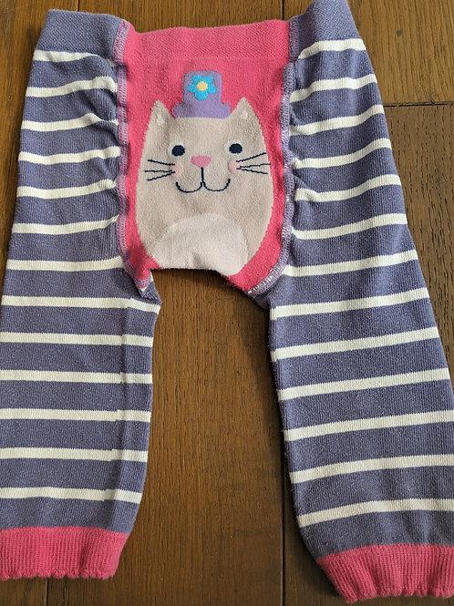 Frugi Cat Little Knitted Leggings