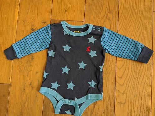 Joules Star Long Sleeve Bodysuit