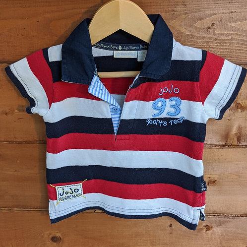 JoJo Maman Bebe Rugby Polo Shirt