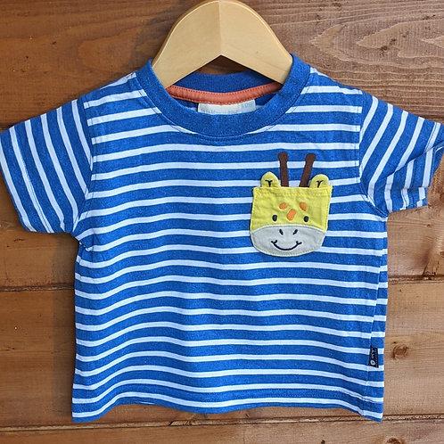 JoJo Maman Bebe Giraffe Applique T-Shirt