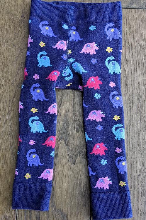 JoJo Maman Bébé Knitted Dinosaur Leggings