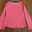 Thumbnail: Fat Face Plain Pink Long Sleeve Top