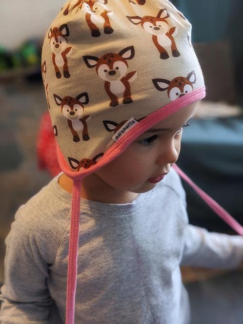 Maxomorra Helmet Hat Deer Print