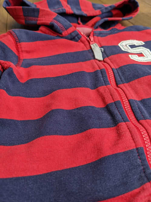 Sprout Striped Hoodie