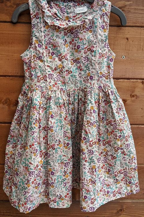 Next Floral Collar Dress
