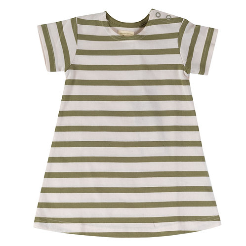 Breton Dress, Olive