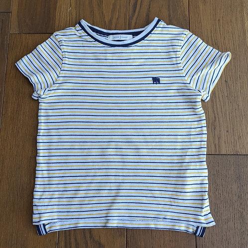 Jasper Conran Striped Round Neck T-Shirt