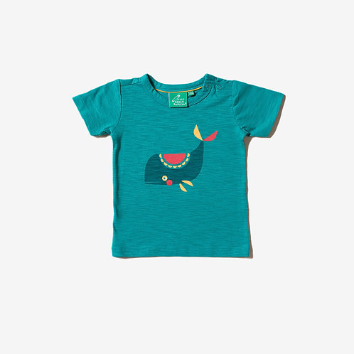Little Green Radicals Whale Of A Time T-Shirt