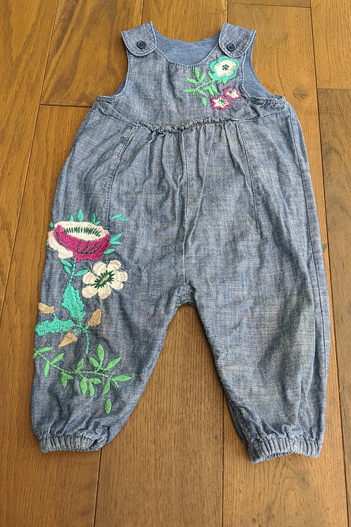 Next Embroidered Dungarees