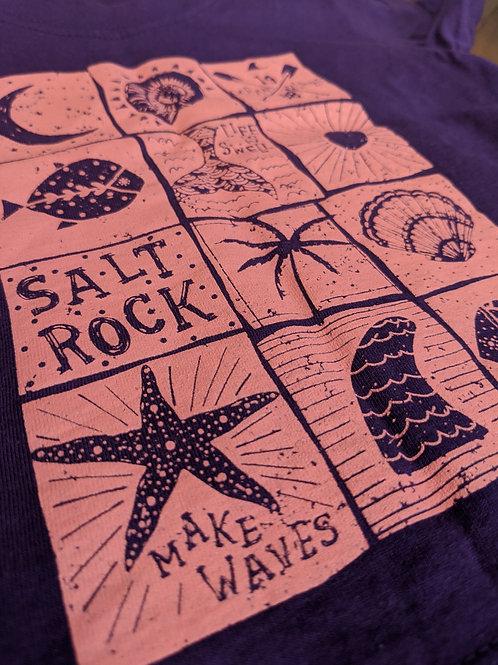 Saltrock Purple Make Waves T-Shirt