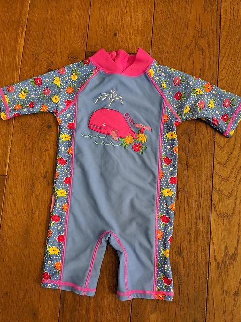 JoJo Maman Bébé Whale1-Piece Sun Protection Suit