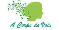 logo 1 A corps de voix cours de chant la