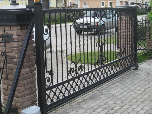 Откатные ворота на заказ