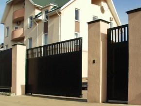 Частное производство откатных ворот