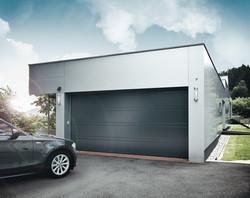 Производство гаражных ворот для дачи