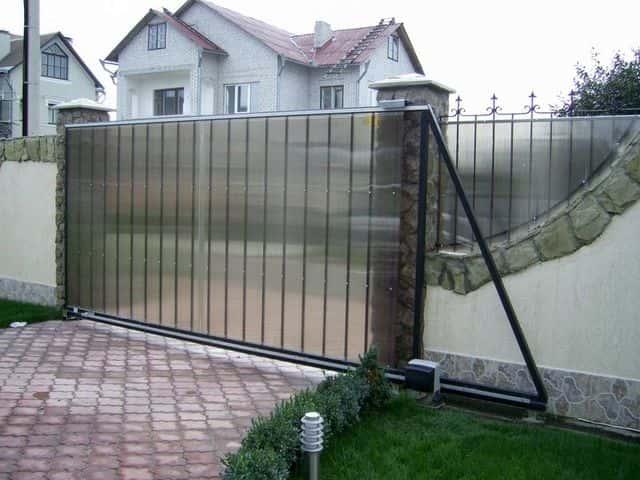 Производство откатных ворот срочно