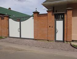 Распашные ворота купить в Москве