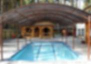 Навесы над бассейном