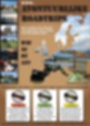 Poster Avontuurlijke Roadtrips 2014