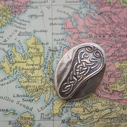 Handcrafted Silver Celtic Brooch5.jpg