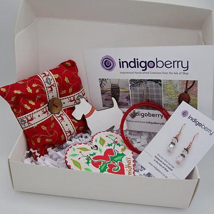 Gift Box - Festive Red