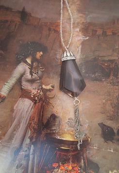 Grey Agate Chain Pendant 8.jpg