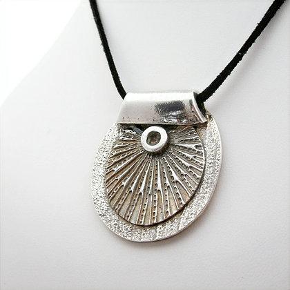 Handcrafted Silver Sporran Pendant
