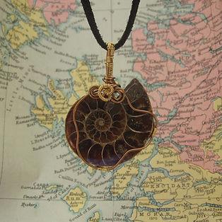 Fossil Pendant by Indigo Berry
