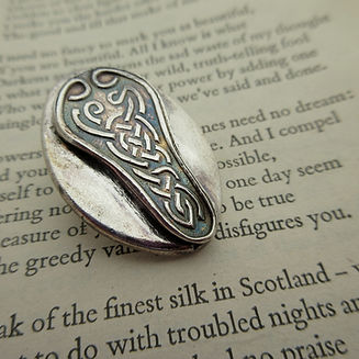 Handcrafted Silver Celtic Brooch3.jpg