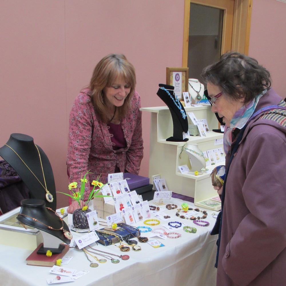 Indigo Berry stall at 2015 Easter Craft Fair Isle of Skye