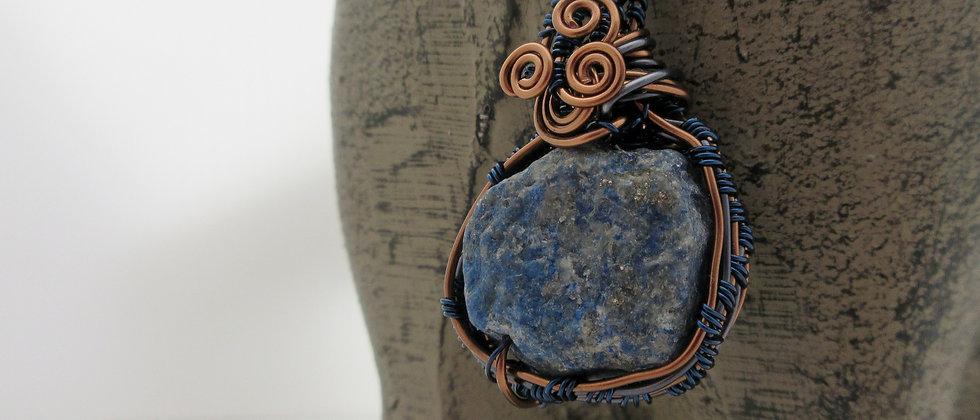 Lapis Lazuli Nugget Pendant