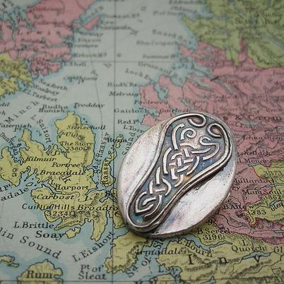 Handcrafted Silver Celtic Brooch 4.jpg