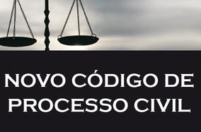 Bem vindo ao Novo Código de Processo Civil!