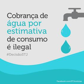 Cobrança de água por estimativa de consumo é ilegal