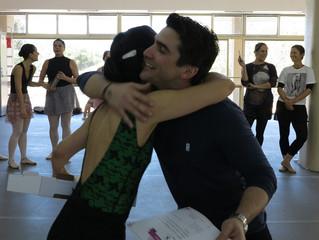Porque ballet combina com gentileza...