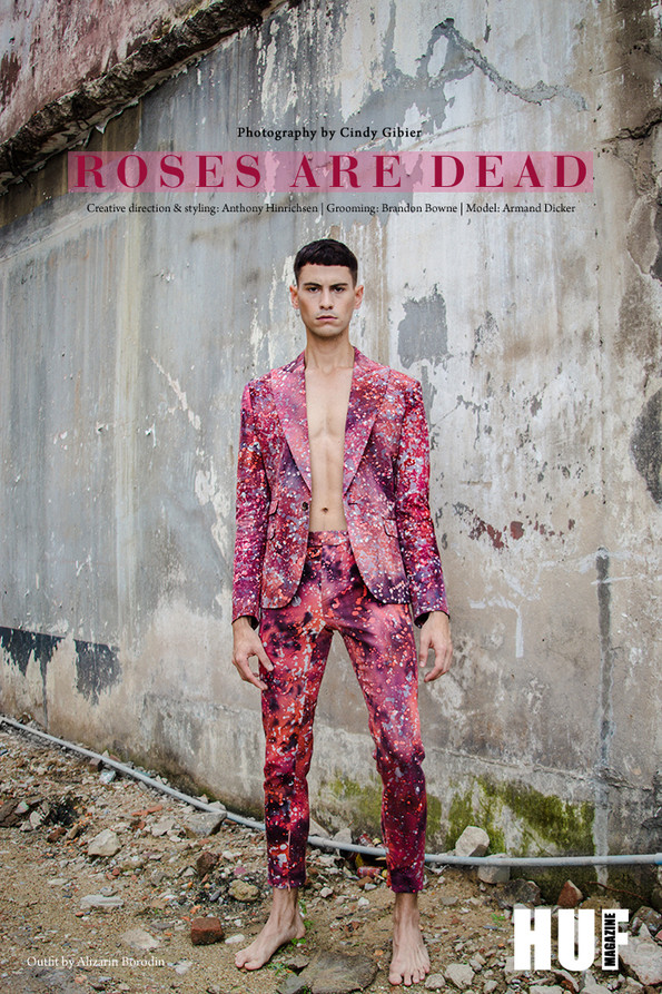 Roses Are Dead, photography by Cindy Gibier for HUF Magazine
