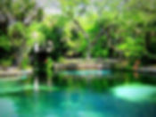 Juniper Springs swimming are in the Ocala National Forest