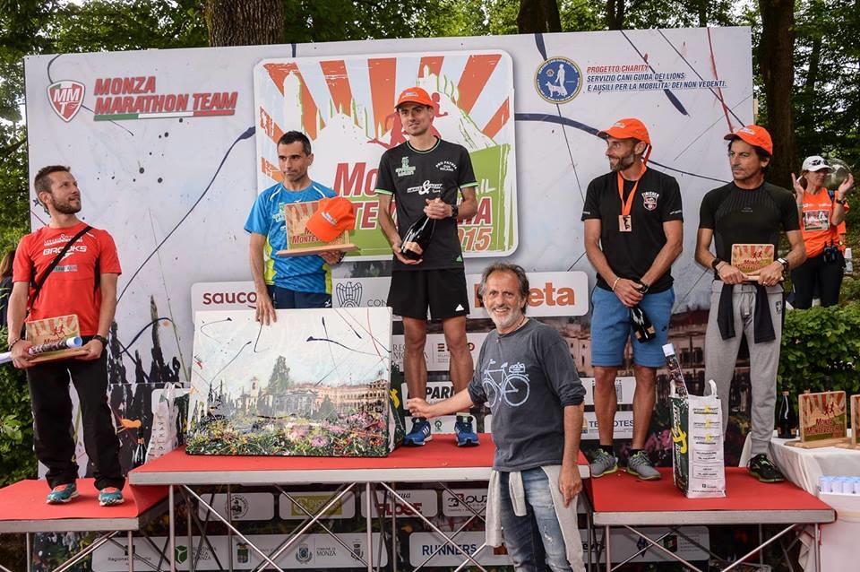 Premiazione corsa