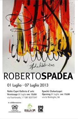 Roberto Spadea a Capri
