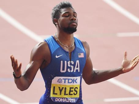 Atleta della settimana - Noah Lyles