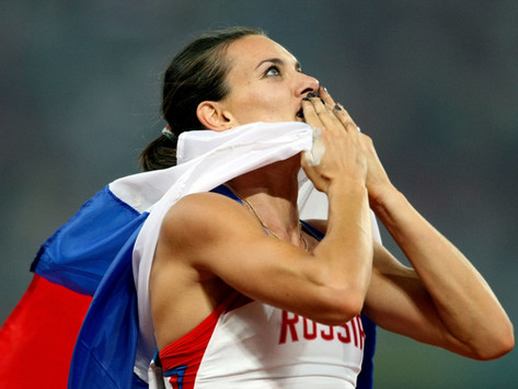 #backtofuture - Yelena Isinbayeva