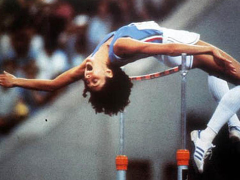 Sara Simeoni - prima donna sopra i 2 m