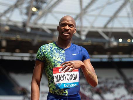 Luvo Manyonga sospeso per doping