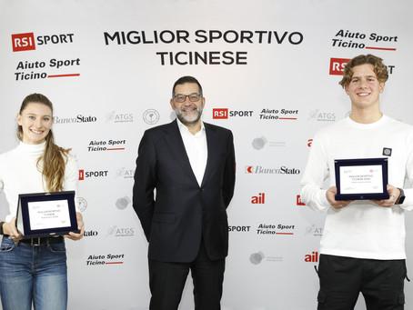È Ajla Del Ponte il Miglior Sportivo Ticinese 2020