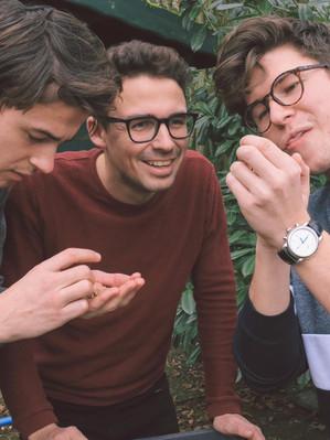 Lukas, Philipp und Hendrik